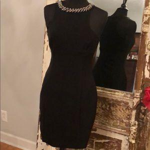 Express 💥💥Hot Little Black Dress, Stone Collar